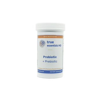 Supports gut health and weight management Probiotic + Prebiotic by TrueEssentials MD