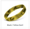 Black Yellow Swirl
