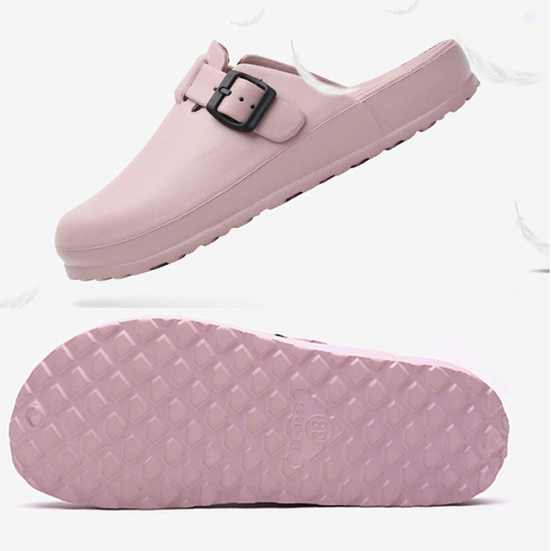 Unisex Boston waterproof adjustable EVA Clogs Anti-Slip Sandal for Women Men Antislip Sole Garden Slippers Mules