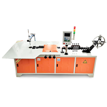 China Credit insurance Big power car curtain wire bending machine automatic for sale