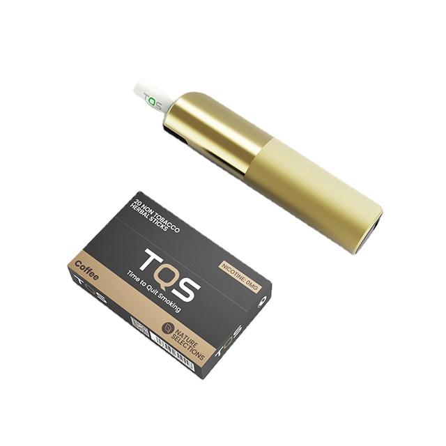 Здоровая система нагревания табака TQS электроники cigarrrete система нагревания табака stick курительный прибор нагревает дыма не сгорает
