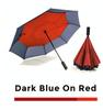 Azul oscuro rojo