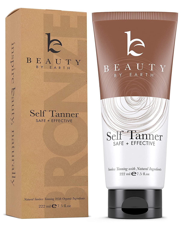 Self Tanner - With Organic Aloe Vera & Shea Butter