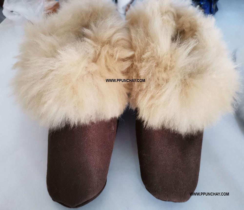 Baby Alpaca Slippers