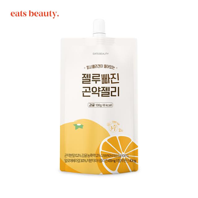 Konjac Jelly Low Calorie Korean Diet Drink Snack Food Mandarin Flavor Made in Korea OEM ODM