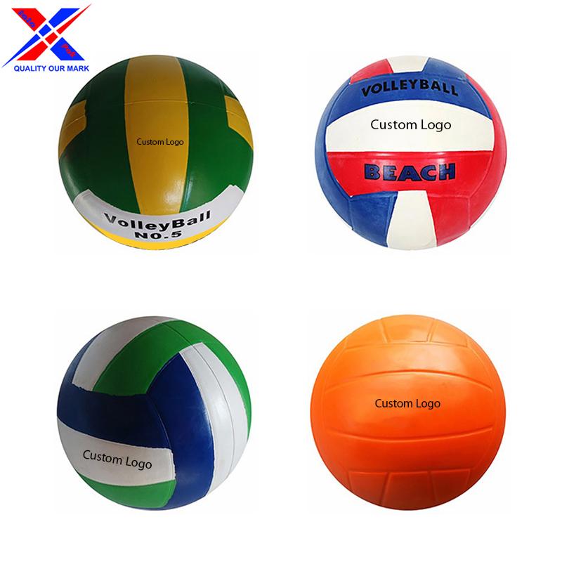 18 панелей, многоцветные пляжные волейбольные мячи на заказ, влагостойкие мячи из искусственной кожи для пляжного волейбола, матчи для игры в волейбол