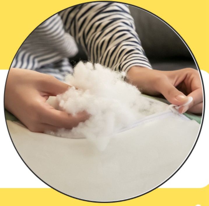Recycled polyester staple fiber 15DX64mm hollow conjugated siliconized&Non-siliconized HCS&HC