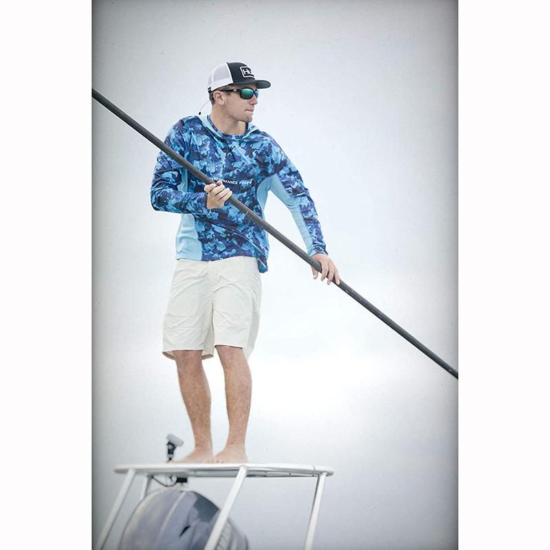 Новейший дизайн, оптовая продажа, индивидуальная сублимационная одежда для рыбалки, Мужская быстросохнущая камуфляжная рубашка для рыбалки с УФ-защитой