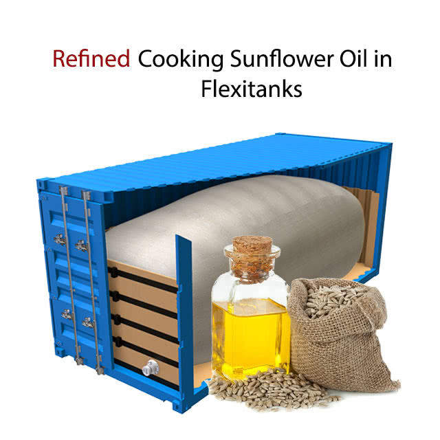 100% Refined Cooking Oil Cheap Sunflower Oil