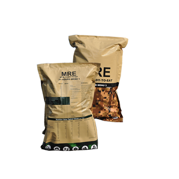MRE meals ready to eat food, survival food emergency