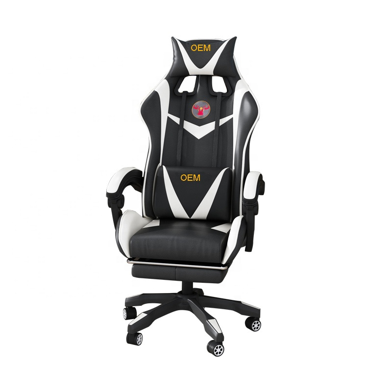 Office furniture gamer racing chairs PU leather high back chairs