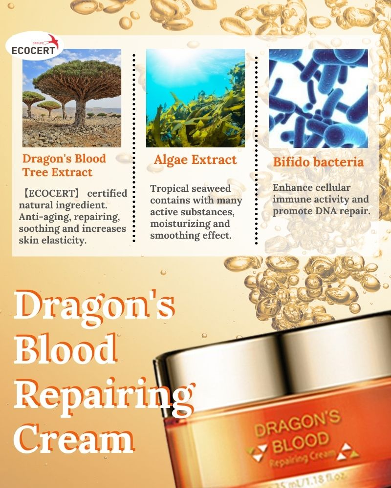 Taiwan Dragon's Blood Tightening Skin Face Cream Tight Anti-wrinkle face cream OEM ODM Mark removal cream