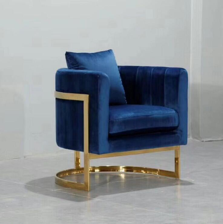 American Style home goods Home Furniture Luxury Velvet Fabric Julius Tufted Back Vintage Dining Room Chair