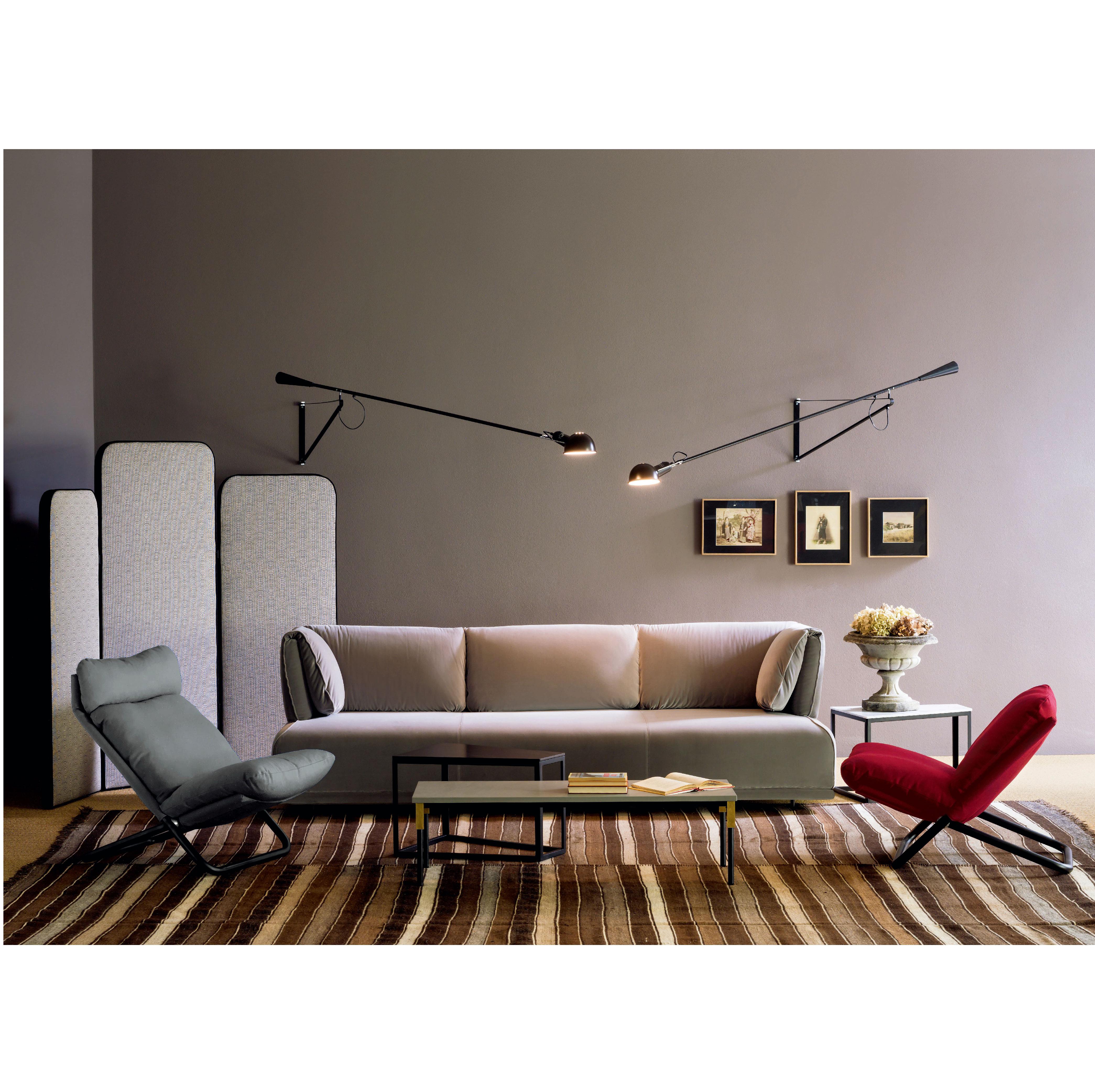 Modern Living Room Furniture Customized White Fabric Soft Big Seat ...