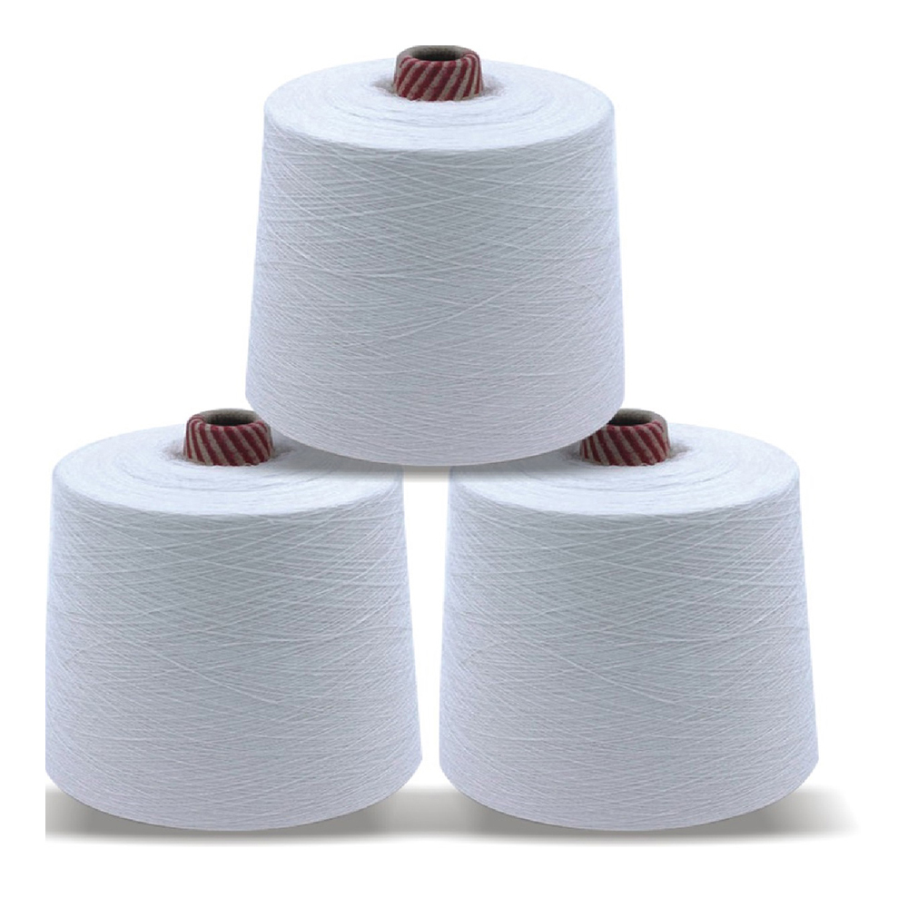 Best quality poly cotton yarn for Weaving 65%+35%