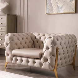 Luxury Living Room Furniture / Living room Sofa (Three seat) All seats are customization, competitive price for wholesale