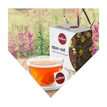 A003 - great taste favourite Ivan-chai with cowberry and chamomile blend herbal tea
