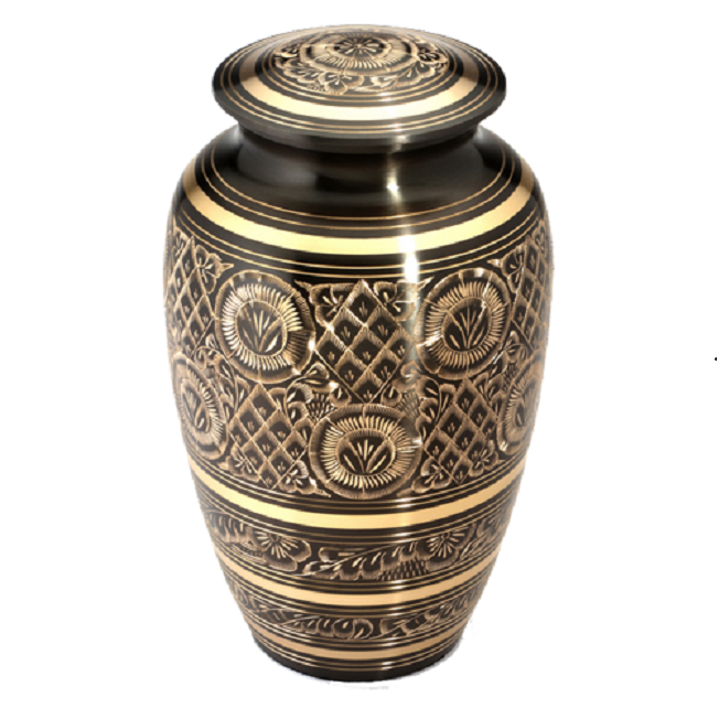 Wholesale Fine Metal Brass Cremation Funeral Urns for Ashes supplier in India