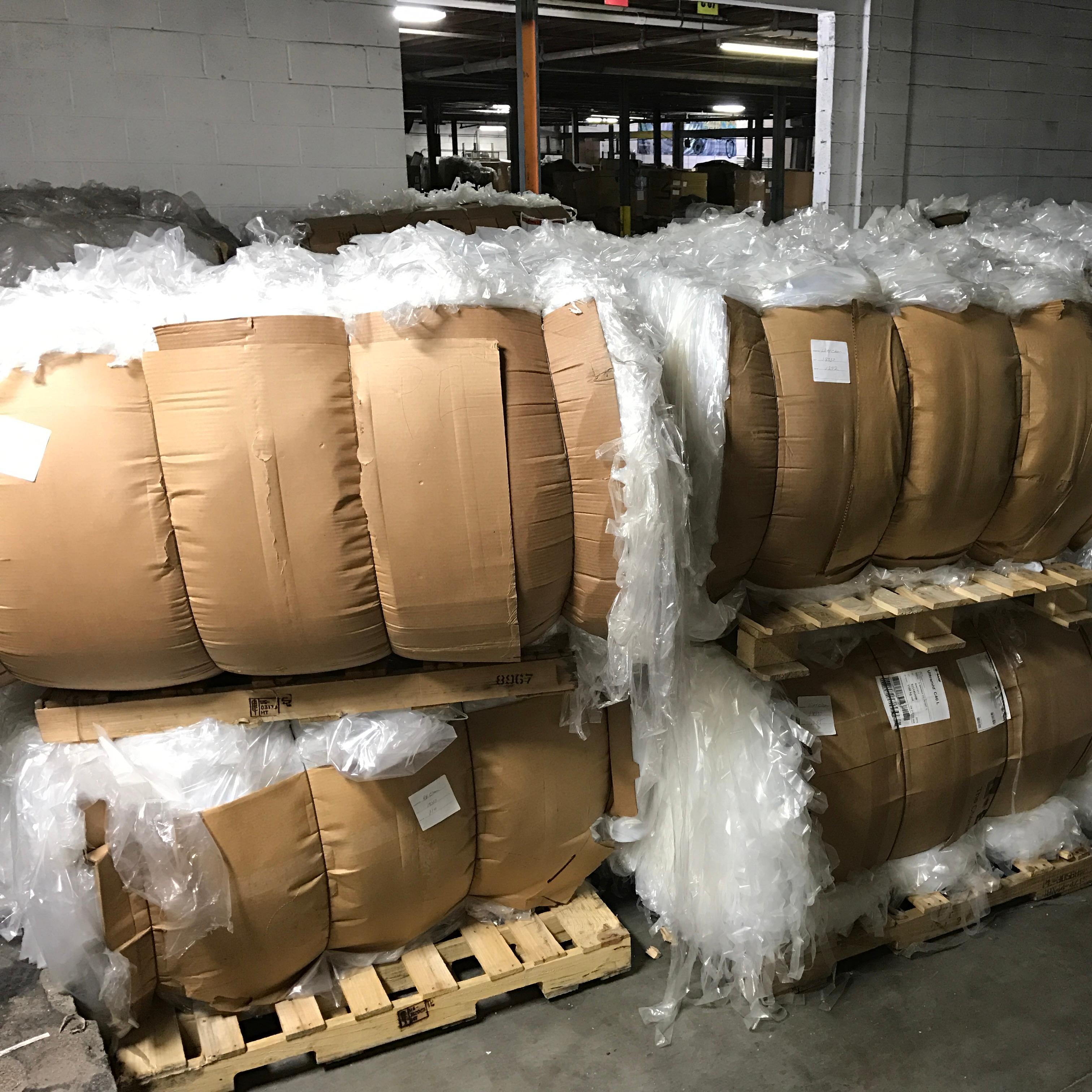 LDPE переработанный пластиковый пленочный лом