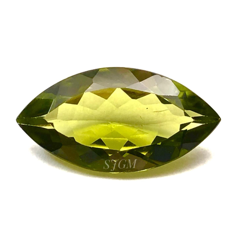 10 pieces natural peridot marquise shape cabochon gemstone
