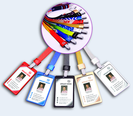 16 mm 20 mm Printed Multicolored Lanyard with logo printed Engraving