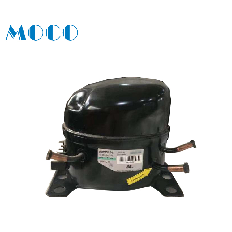 Free sample with 2 year warranty black commercial refrigerator compressor