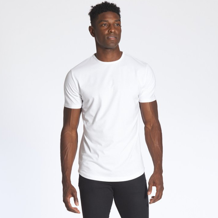 High Quality T Shirt 100% Cotton Casual Oversized Muscle Fit Blank T Shirt Casual Shirts Custom Made Size Custom Woven Label Men