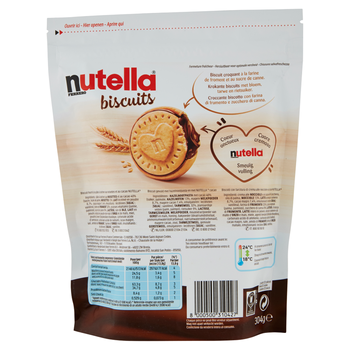 Nutella Biscuits 304g German Text (WhatsApp +491788497091)