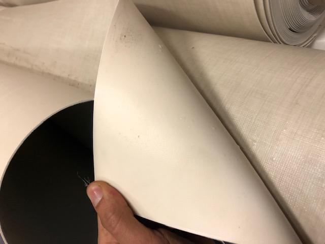 Виниловый пол из ПВХ/переработка текстиля