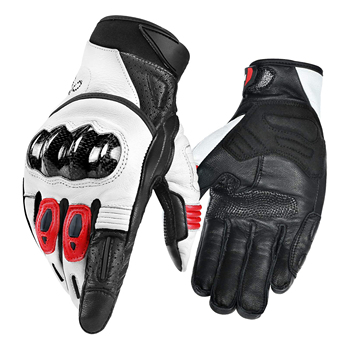 Motorbike Leather Sports Racing Gloves