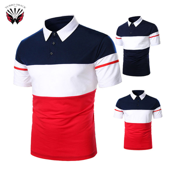 Polo Shirt Wholesale Men Clothes Short Sleeve Polo T-shirt New Fashionable Custom Design Golf Polo Shirts