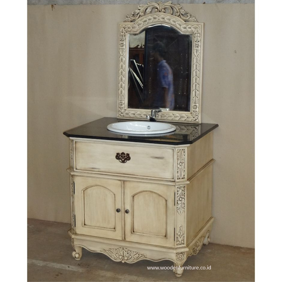 Vanity With Sink French Style Bath Room Furniture Antique Washbasin With Mirror European Home Furniture Buy European Style Bathroom Vanity French Style Bathroom Vanity Antique Style Bathroom Vanity Product On Alibaba Com