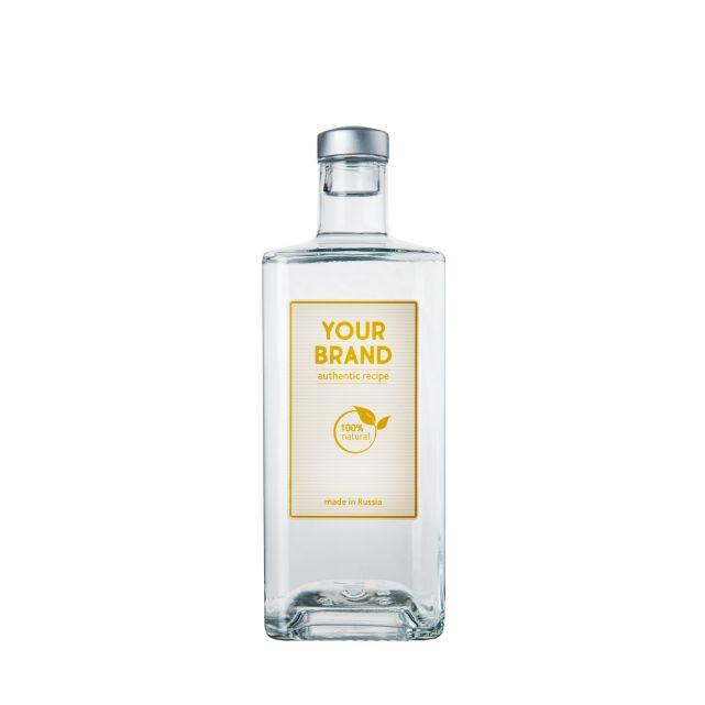 Own brand 12 botanicals 1 L bottle  gin OEM