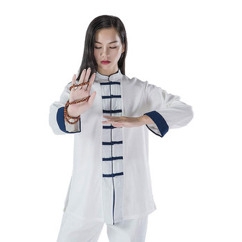 White Tai Chi Wing Chun Uniform for Women