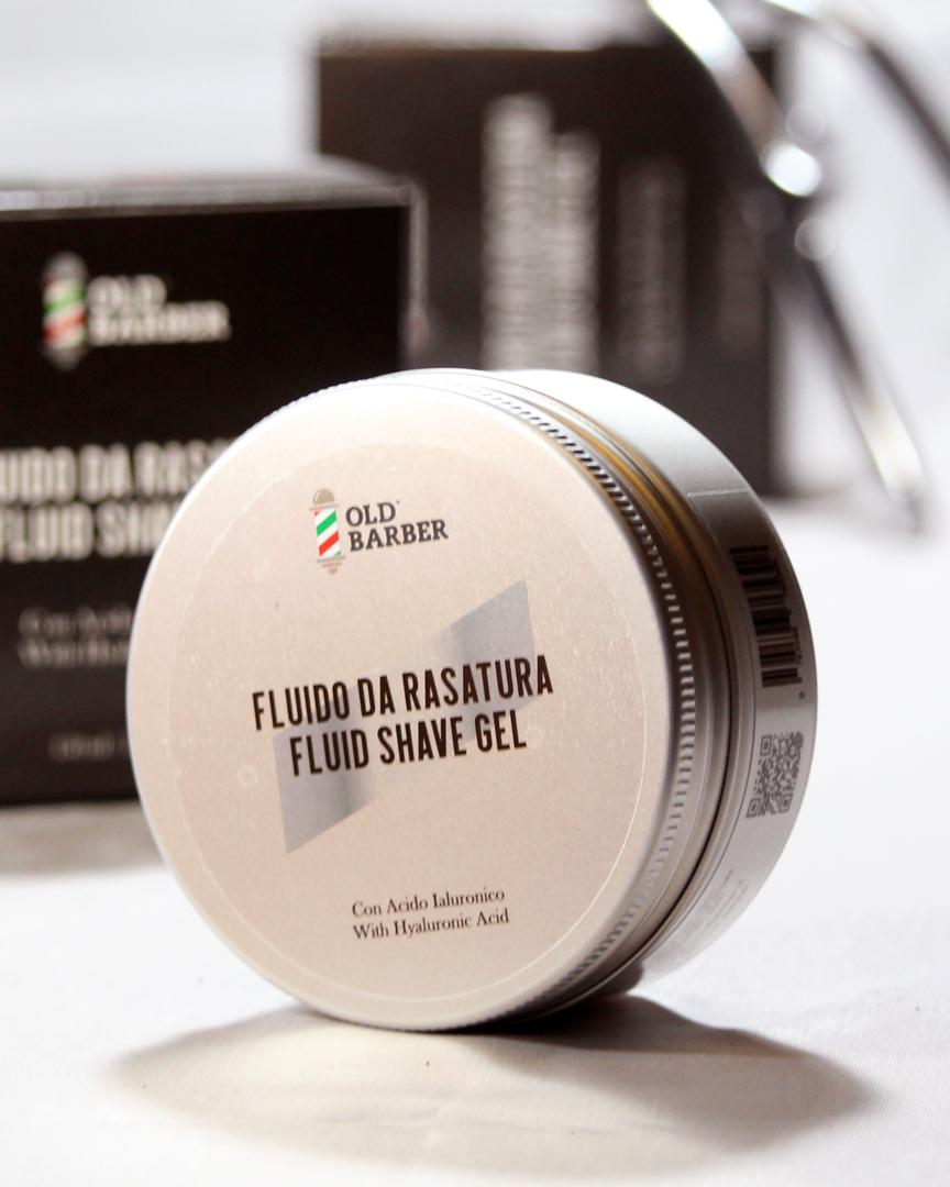 Высококачественный Жидкий Гель для бритья с гиалуроновой кислотой для мужчин, Сделано в Италии