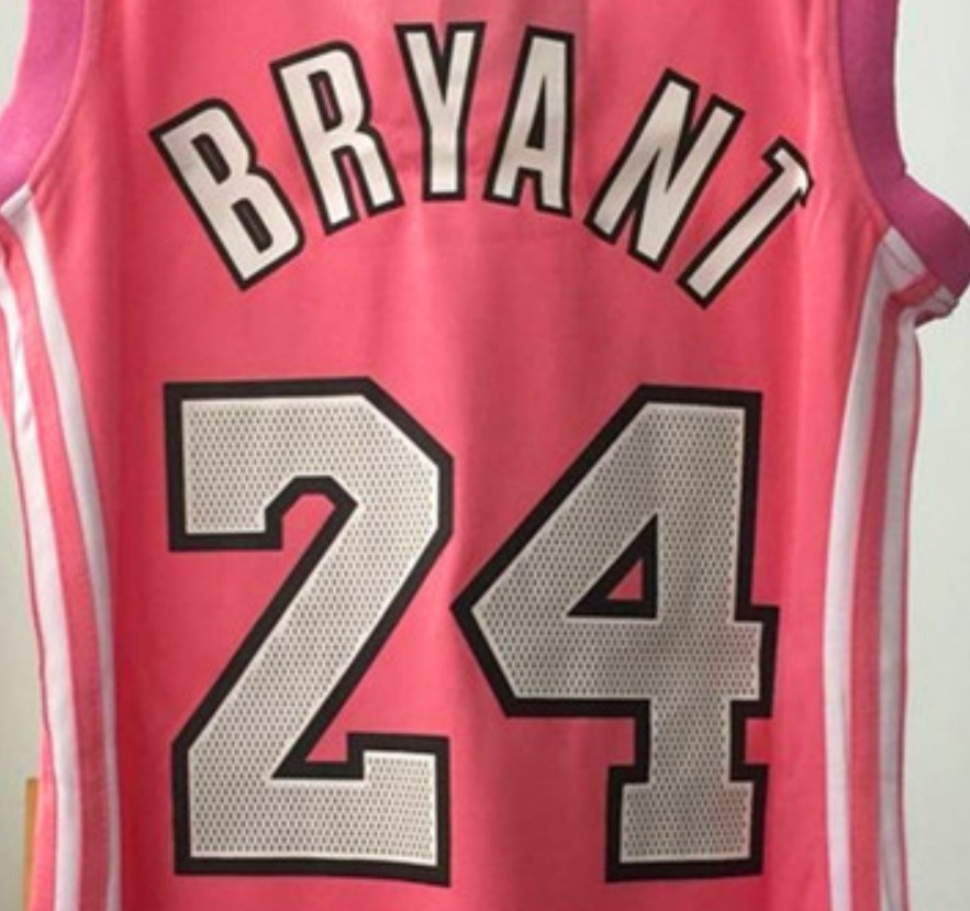 Women's Kobe Bryant Pink Basketball Jersey - Buy Kobe Bryant ...