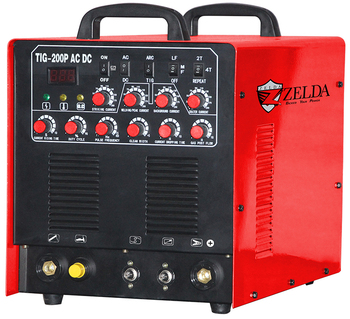 Ideal for Welding Aluminium and Stainless Steel TIG-200P AC/DC TIG Welder