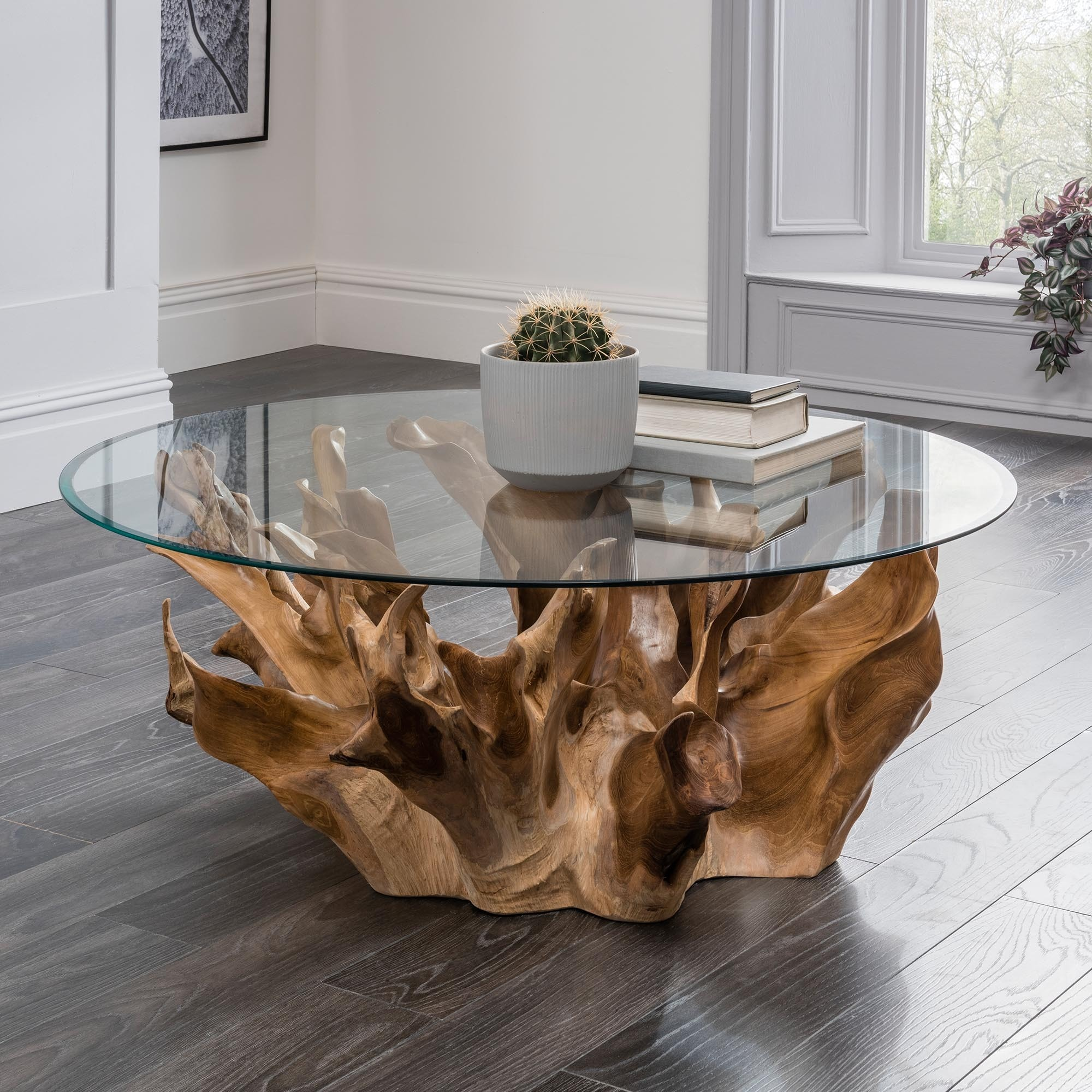 Teak Root Coffee Table Round Buy Glass Coffee Tables Wooden Coffee Tables Glass Teak Root Coffee Table Product On Alibaba Com
