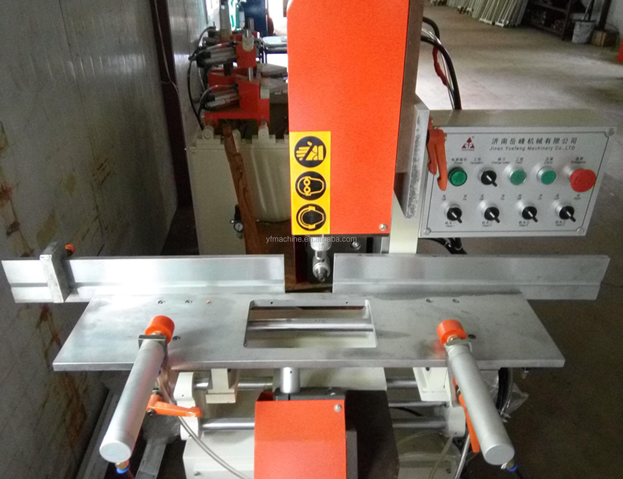 pvc profile window Water Slot Router equipment for plastic windows china
