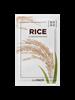 الطبيعي الأرز قناع ورقة 10 قطعة