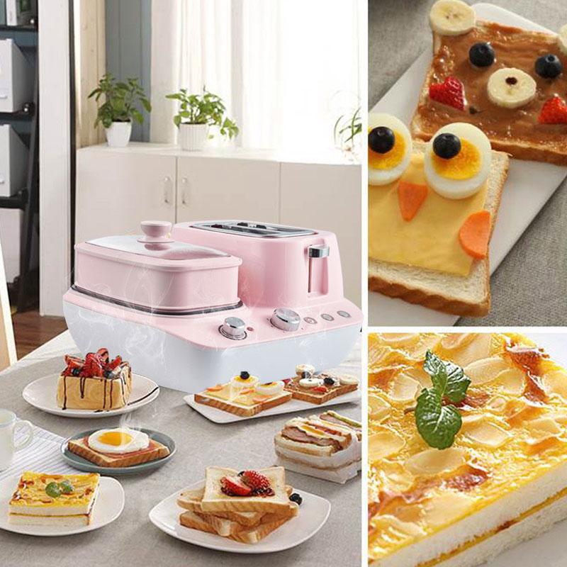 Eggs Roll Omelet Portable Toaster Multifunctional Electric Sandwich 3in1 Breakfast Maker
