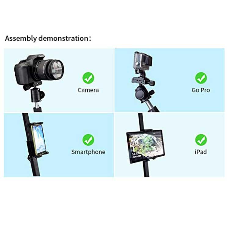 Kainice, лидер продаж, полностью автоматическая камера с управлением движением, портативная фотокамера 360, видеокамера с углом обзора 360 градусов