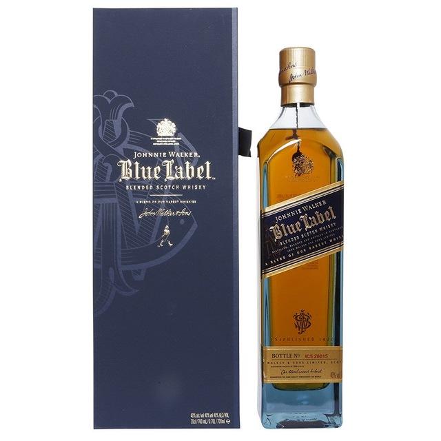 JOHNNIE WALKER BLUE/RED/BLACK LABEL OLD SCOTCH WHISKY