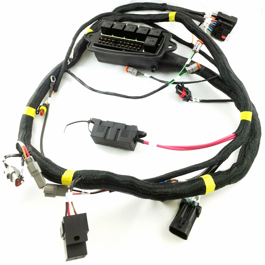 Customized Auto Parts Car Accessories Male Female Wire Harness For E bike    Buy Oem Electronic Component Wiring Harness For Electric Bike,Rohs ...