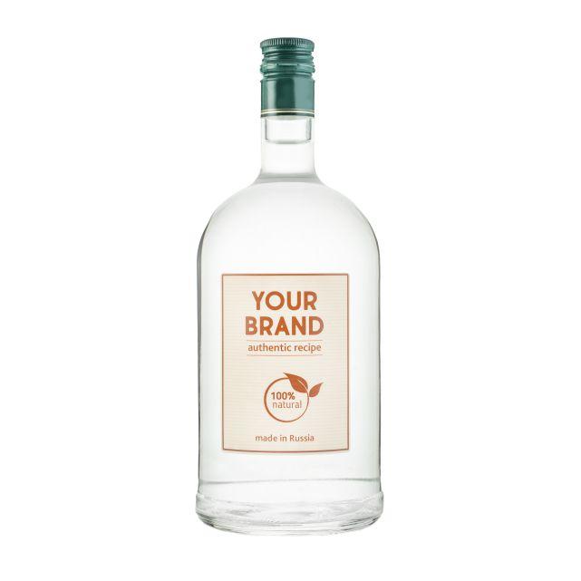 Own brand economy gin 1 L bottle OEM