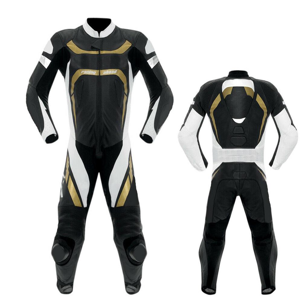Кожаный костюм YAMAHA Movistar MotoGB 2019, одобрен CE