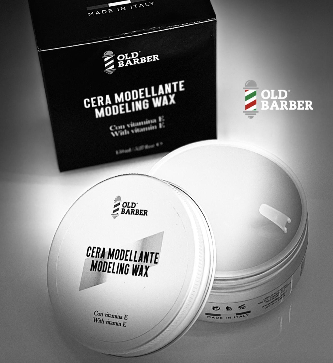 Высококачественный Профессиональный моделирующий воск для волос для мужчин, витамин Е, Сделано в Италии