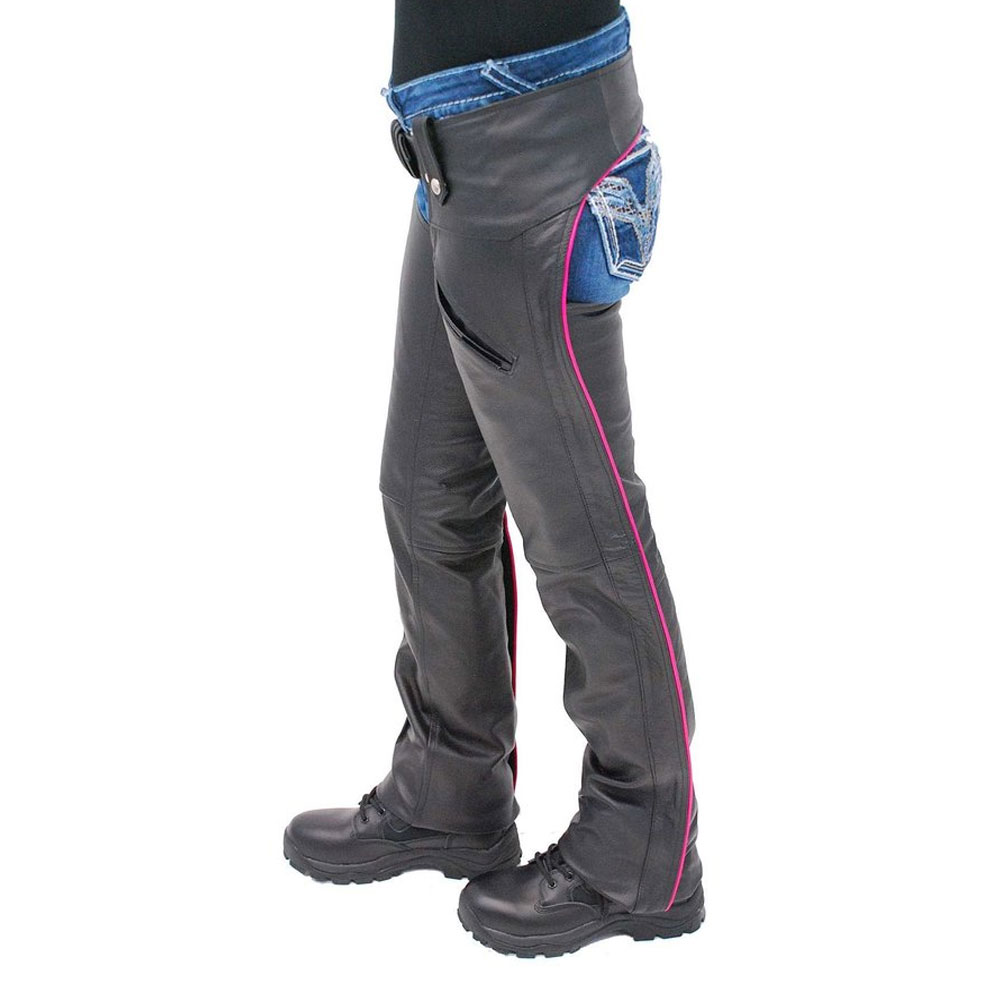Custom leather chap/men leather chaps / genuine leather chaps
