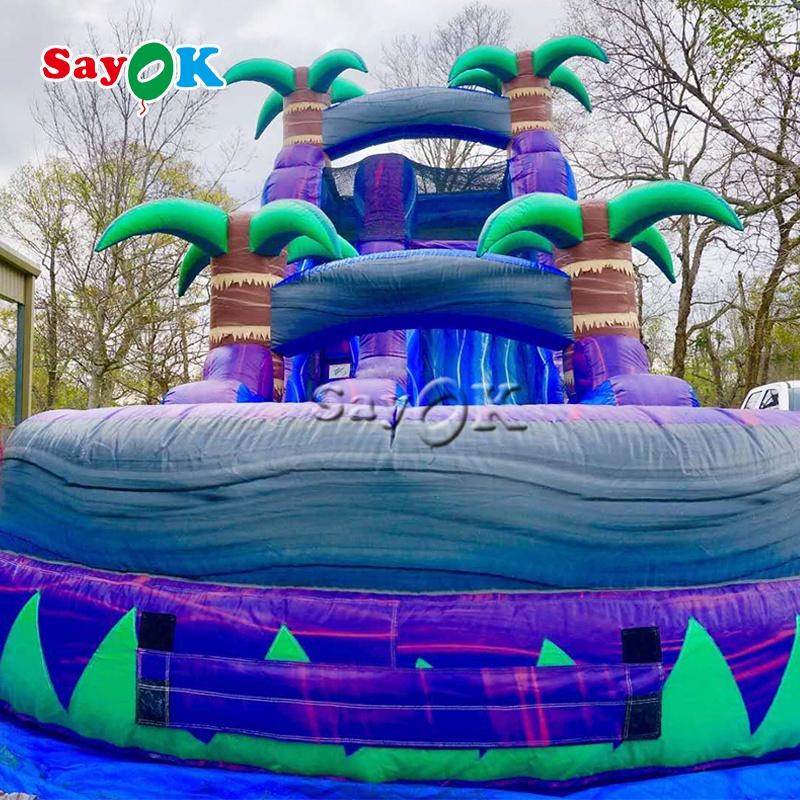 Китайская надувная водная горка Sayok для детей и взрослых