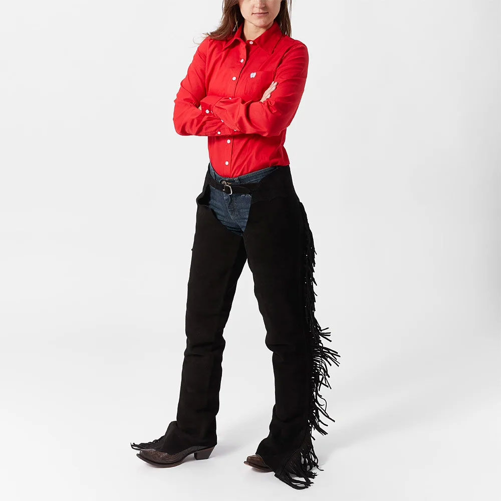 Custom made Custom Color Straps Original Leather Chaps Horse Riding Chaps For men